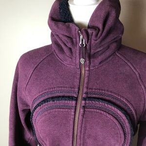 Lululemon Size 8 high neck scuba hoodie